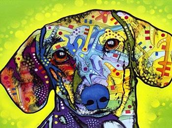 dachshund art