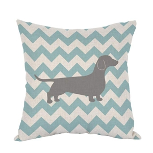 Teal Waves Striped Cotton