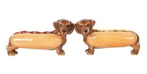 Hot Dog Buns Doxies Salt and Pepper