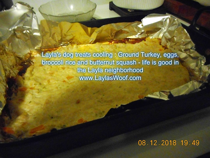 photo and Recipe credit: layla's woof