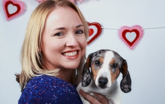 dachshund valentine pics