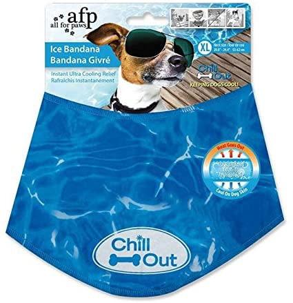 dog cooling scarf