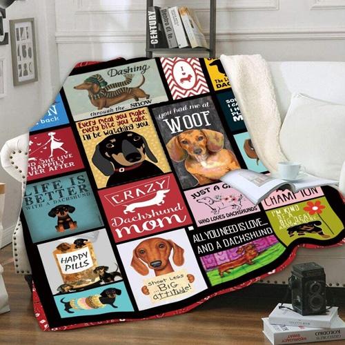 Dachshund Blanket